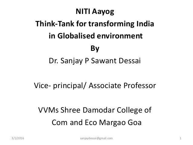 NITI AAYOG Notes Pdf Download -Essay on niti aayog in english pdf