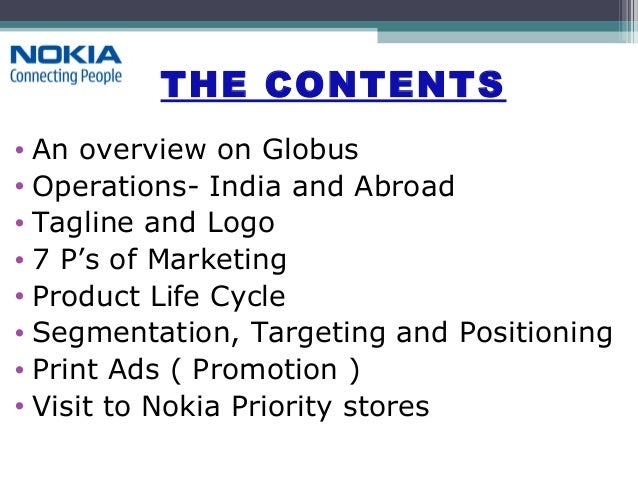 Presentation on nokia Slide 2