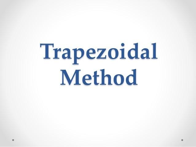 Trapezoidal  Method