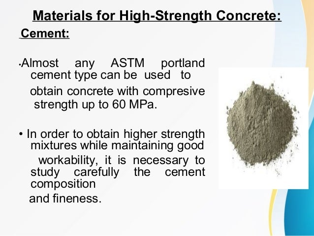 ultra high strength concrete mixtures using local Of producing uhsc using available local materials  ultra-high-strength concrete (uhsc) is a new class  of highperformance concrete mixtures.