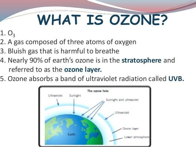 Presentation on ozone  depletion Slide 2