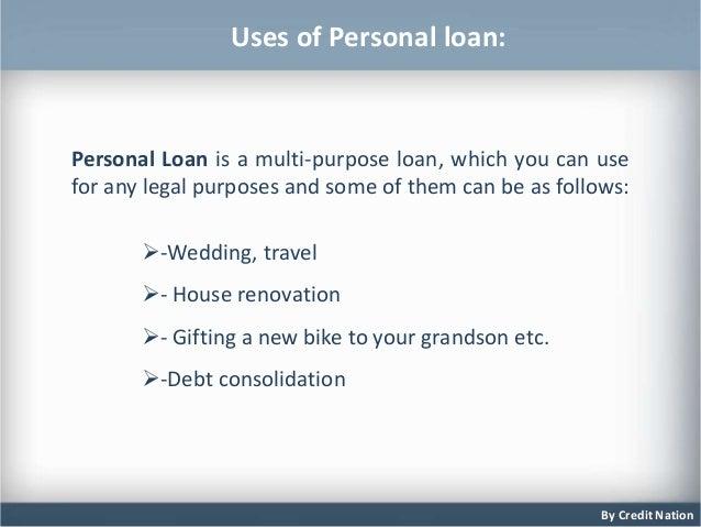 presentation on personal loan 3 638
