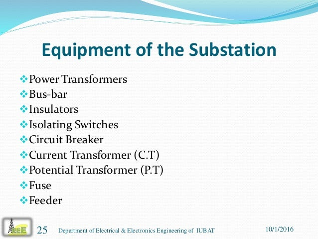 presentation on power distribution operation and maintenance in comi rh slideshare net ehv substation maintenance manual Substation Maintenance Services