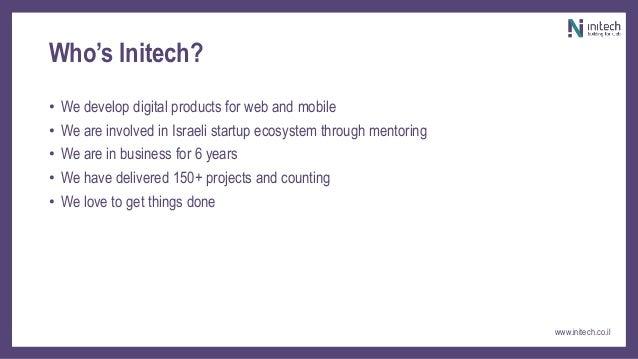 Presentation on  product & R&D Slide 3