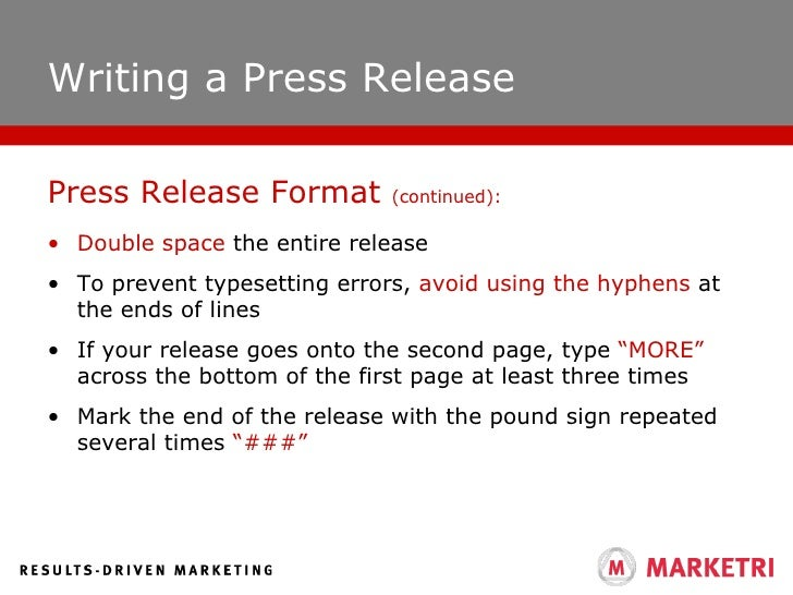 Effective public relations release format 17 writing a press thecheapjerseys Images