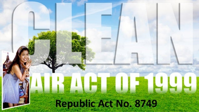 clean air act powerpoint