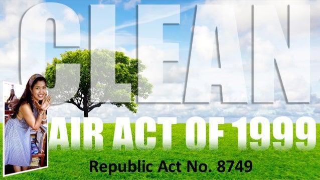 clean air act powerpoint