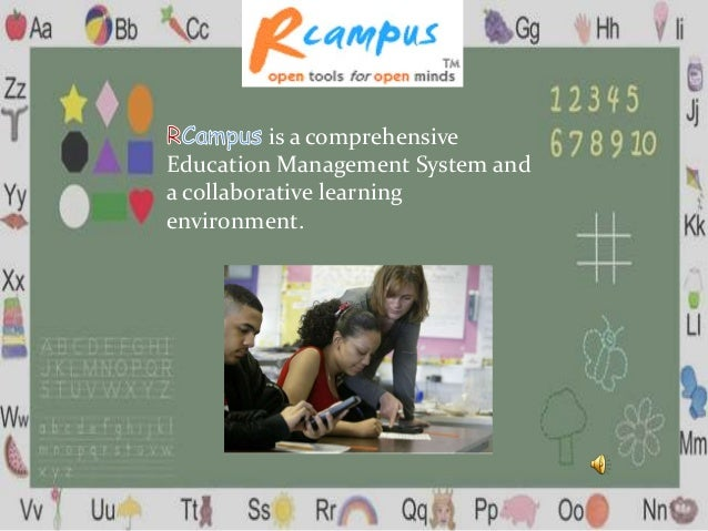 is a comprehensive Education Management System and a collaborative learning environment.