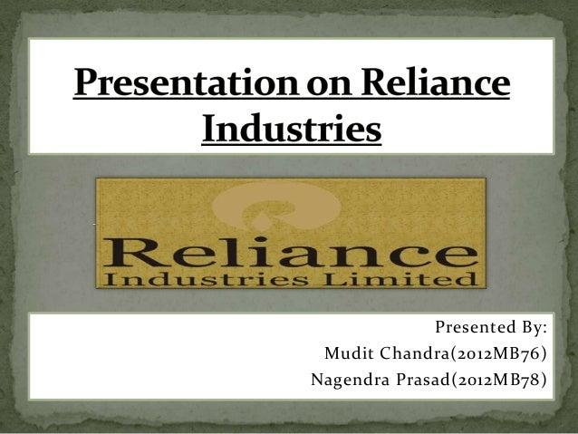Presented By:Mudit Chandra(2012MB76)Nagendra Prasad(2012MB78)