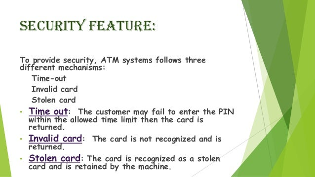 Security Features Of Atm Pdf