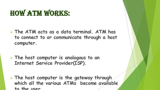 Presentation On Security Feature Of Atm 2
