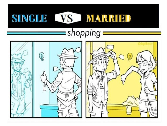 difference between being married and being single