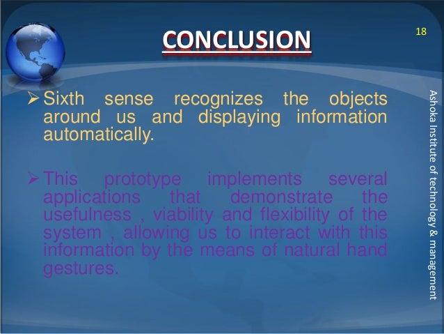 disadvantages of sixth sense technology pdf