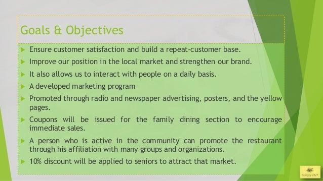 restaurant business plan presentation template