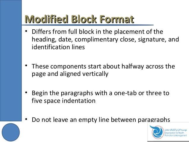 Delightful ... 17. Modified Block FormatModified Block Format ...