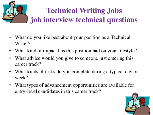 technical writing interview questions