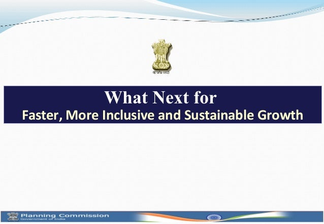 What Next forFaster, More Inclusive and Sustainable Growth                                                1
