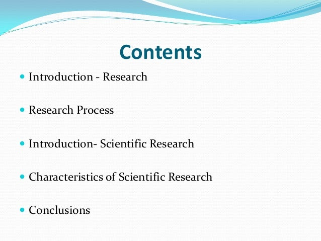characteristics of research problems Identify a significant research problem: in this stage, find out the research questions that are significant and feasible to study the selection of individuals, groups, or cases depends on how the characteristics, or properties of the individuals, groups.