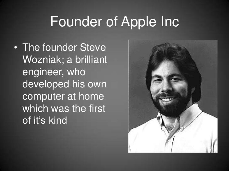 the history of apple inc The company that steve jobs built began in his parents' cupertino house watch how that modest beginning grew into world domination read the story.
