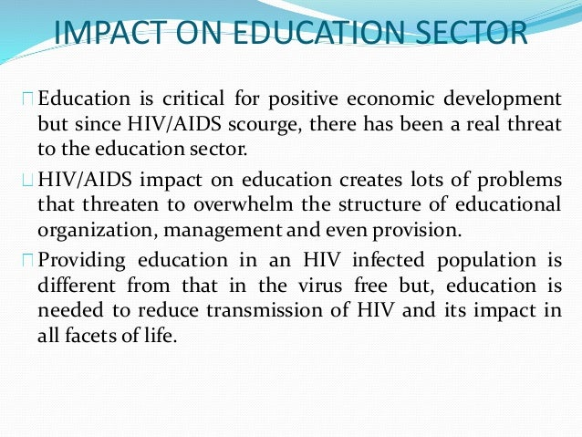 hiv aids and its effects on economic The effects of hiv on your body  many of the effects described here are related to the failure of the immune system in hiv and aids that is progressing  hiv and aids can cause hiv.
