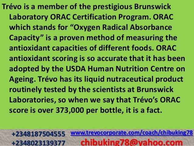 Foods High In Oxygen Radical Absorbance Capacity