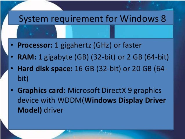 Presentation on windows 8