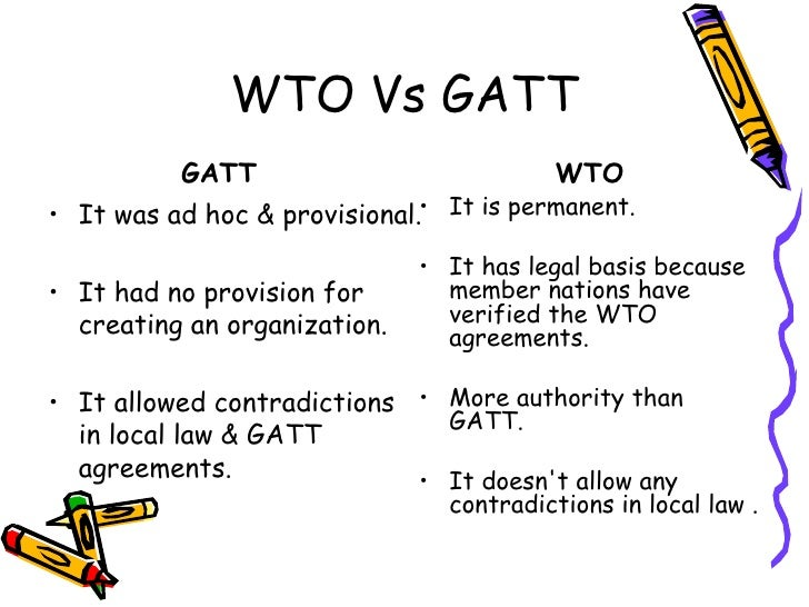 gatt and wto relationship quotes