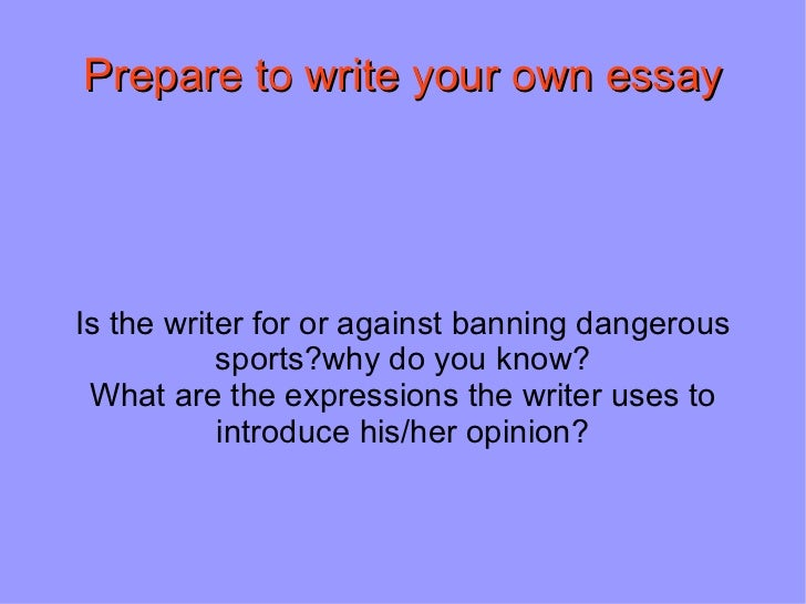 essay on dangerous sports Included: lacrosse essay sports essay content preview text: have you ever wondered if some dangerous sports should be banned from kids many sports are risky for kids but if they are played responsibly they have many great benefits.