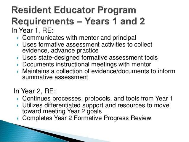 Ohio Resident Education Program Evalaution
