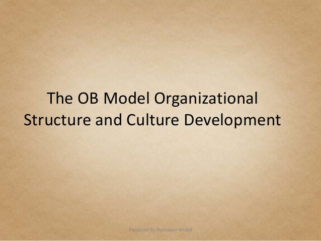 Organizational behaviour is the compromise the