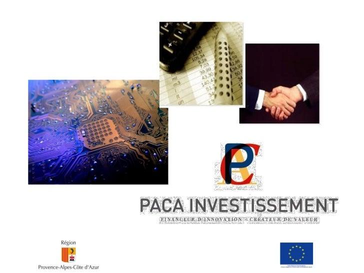 Les constats de la Région sur le financement des                 entreprises en amorçage:-   La phase d'amorçage des proje...