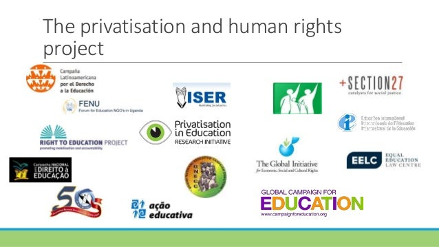 Towards human rights norms and standards to assess privatisation in education Slide 2