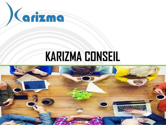 KARIZMA CONSEIL