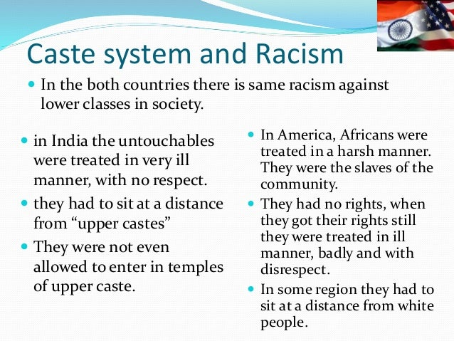 Does America have a caste system?