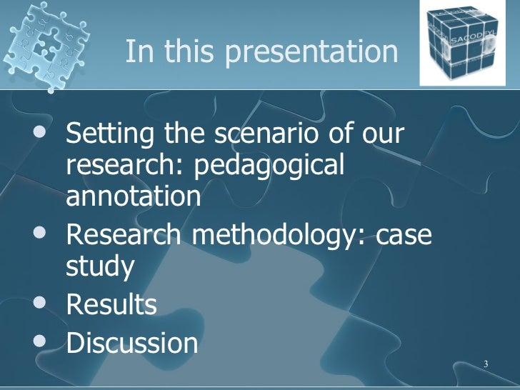 TALC 2008 - What do annotators annotate? An analysis of language teachers' corpus pedagogical annotation. Slide 3
