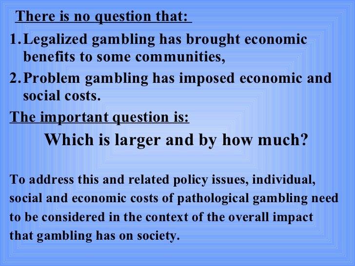 Benefit economic gambling treasure island casino hotel lasvegas nv