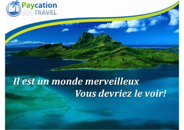 Presentation paycation francais