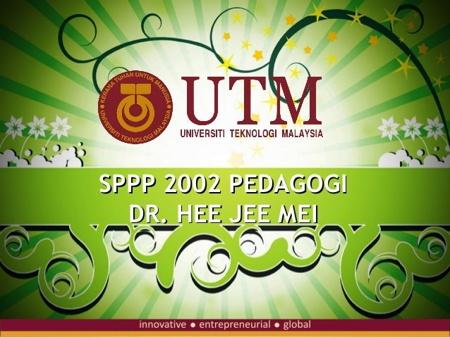 SPPP 2002 PEDAGOGI  DR. HEE JEE MEI