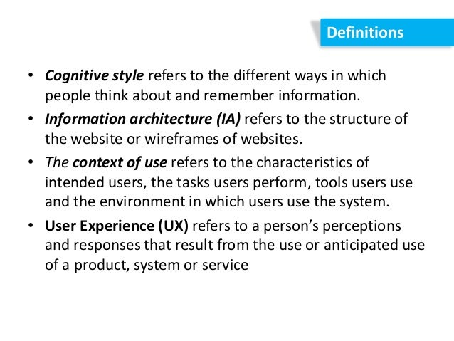 User Experience - Online Courses, Classes, Training ...