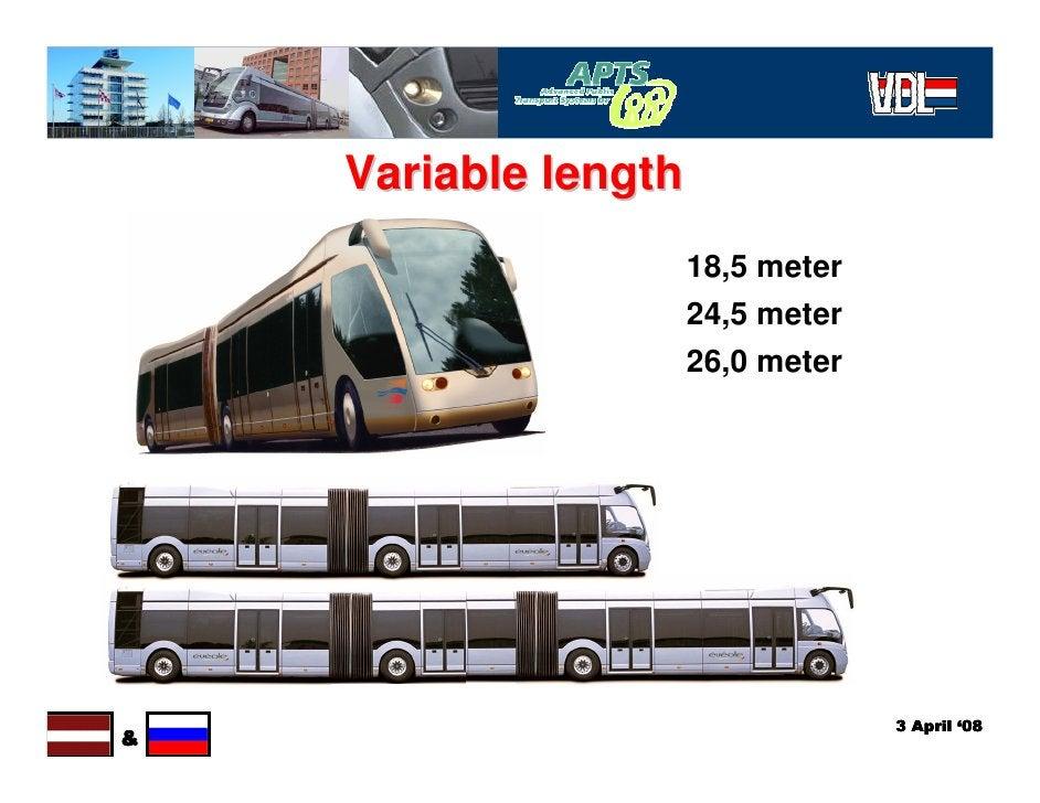 Variable length                       18,5 meter                       24,5 meter                       26,0 meter        ...