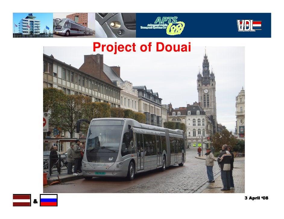 Project of Douai                            3 April '08 &