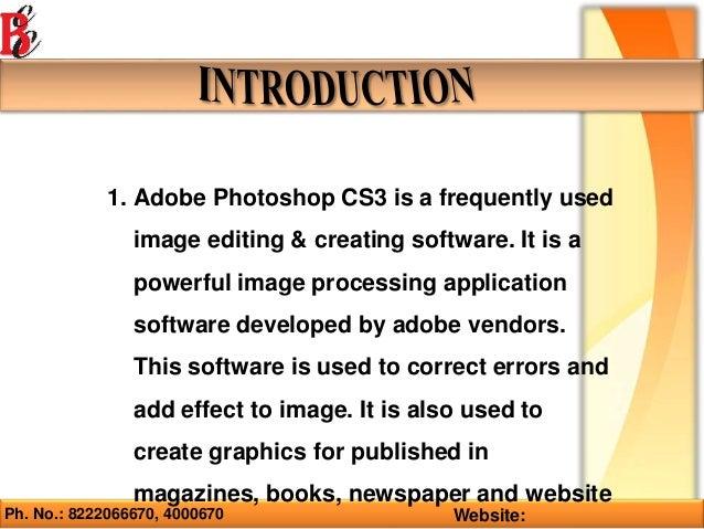 Photoshop Training in Ambala ! Batra Computer Centre