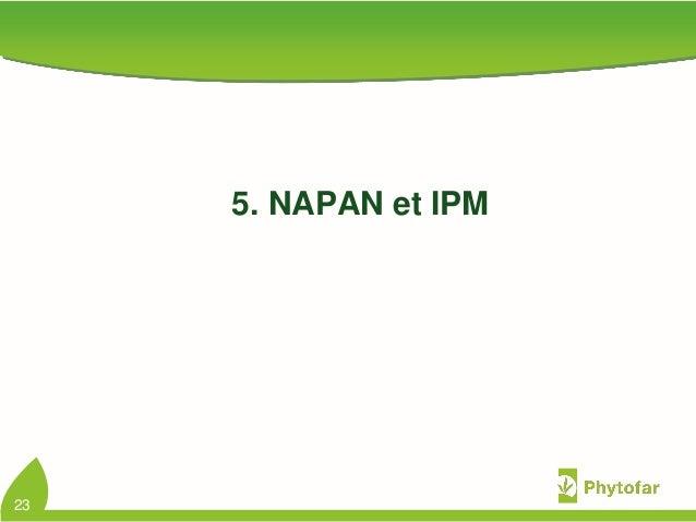 5. NAPAN et IPM23
