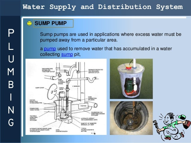 Water Supply and Distribution System      SUMP PUMPP      Sump pumps are used in applications where excess water must be  ...