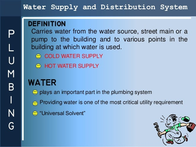 P Water Supplyl Andu Distributionmb Systeming