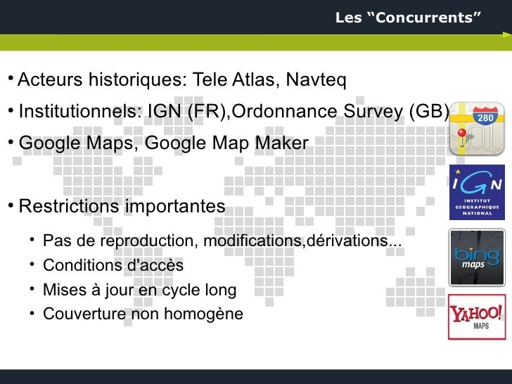 presentation openstreetmap osm au pole numerique de la drome le 06. Black Bedroom Furniture Sets. Home Design Ideas