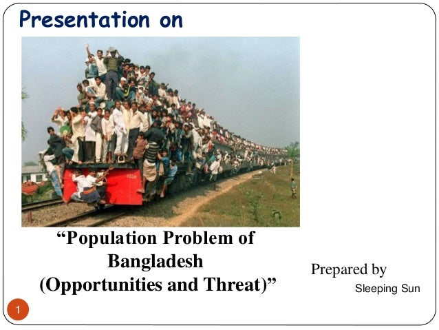 population problem in bangladesh presentation