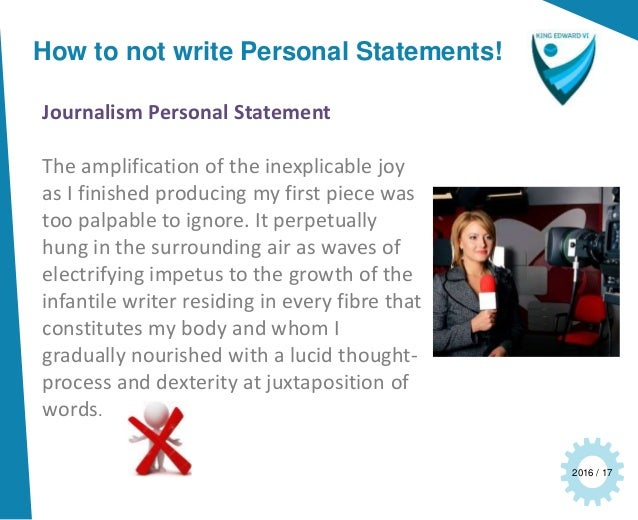 journalism school personal statement Personal statement tips and  journalism schools can help working reporters bring their work to a higher level of  uc berkeley graduate school of journalism.