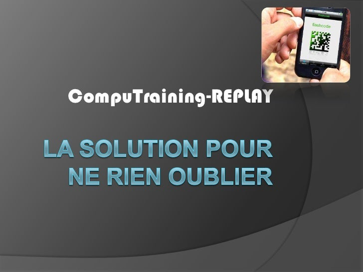 CompuTraining-REPLAY