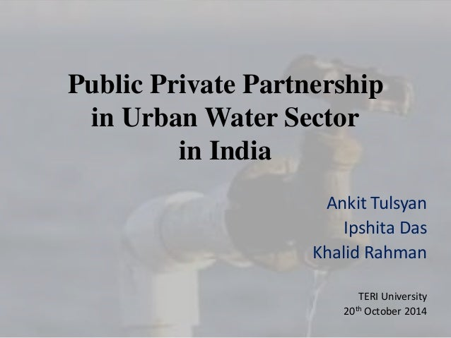 ppp projects in india examples E- governance assignment on public private partnerships in india submitted to: dr gyan prakash submitted by: neha misra (2011-mba-013) public private partnership public private partnership (ppp) is a contract between a public sector institution/municipality and a private party, in which the private party assumes substantial financial.